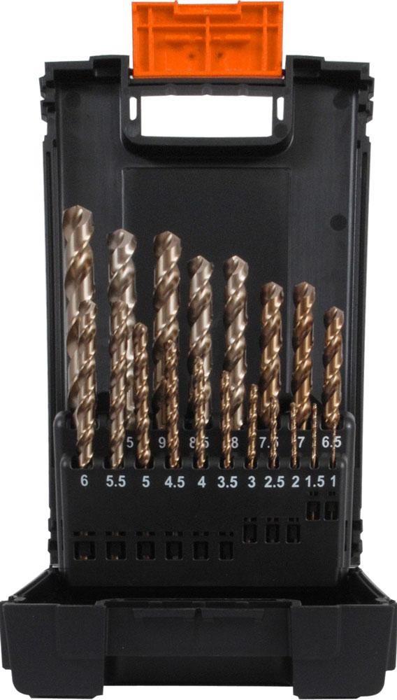 projahn spiralbohrer kassette hss g din 338 typ sn progresso 25 tlg. Black Bedroom Furniture Sets. Home Design Ideas