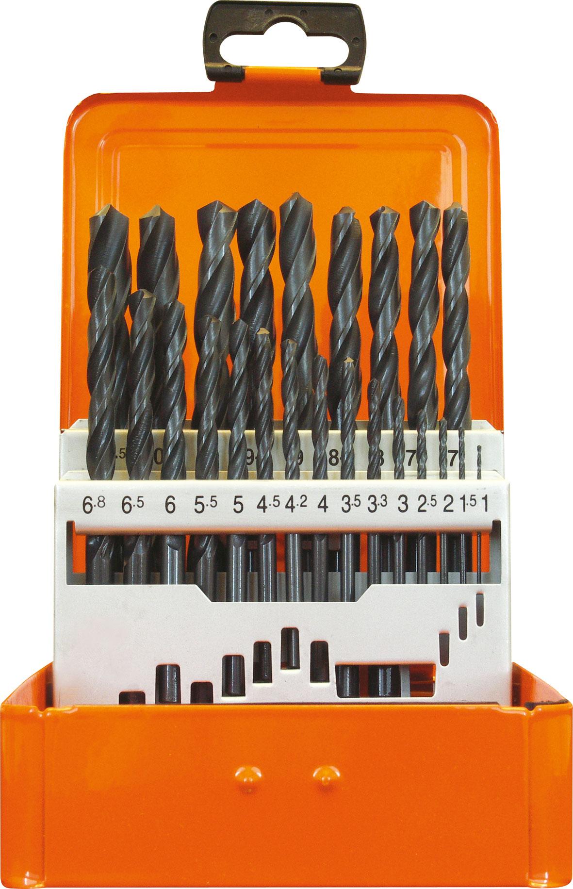 projahn spiralbohrer kassette hss din 338 typ n eco 24 tlg. Black Bedroom Furniture Sets. Home Design Ideas