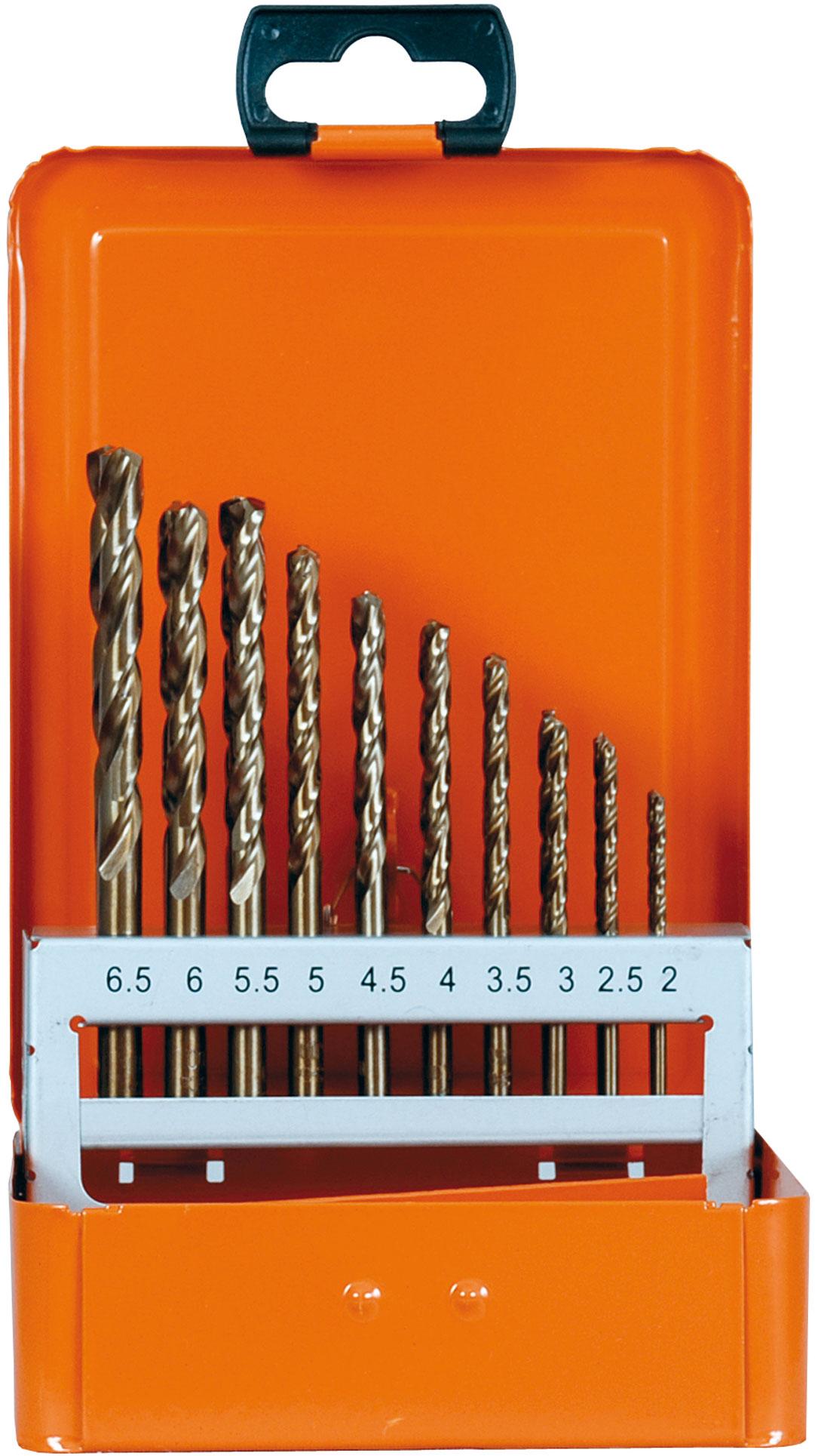 Co Spiralbohrer cobaltlegiert DIN 338 8 mm HSS